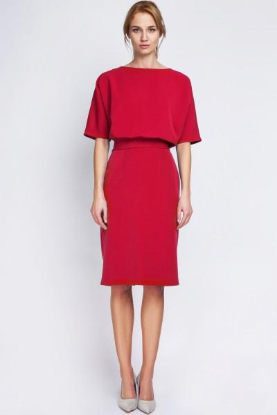 Платье SUK123 красный