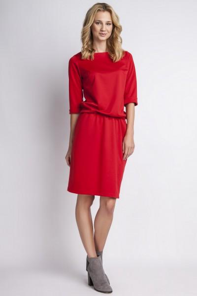 Платье SUK129 красный