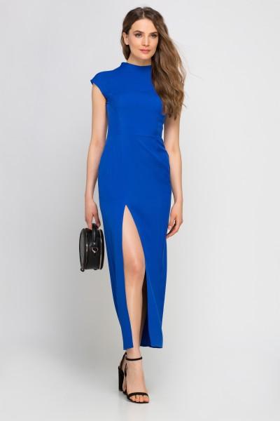 Платье SUK140 индиго