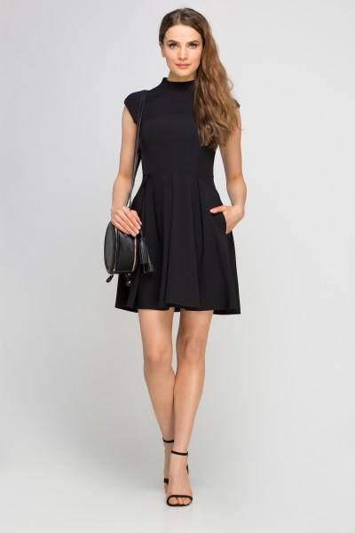 Платье SUK143 чёрный