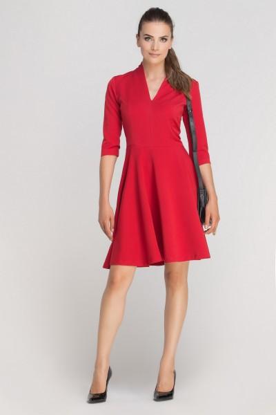 Платье SUK147 красный