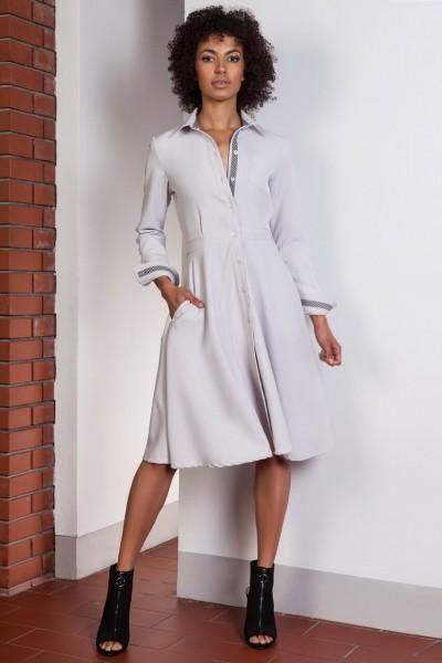 Платье SUK151 серый