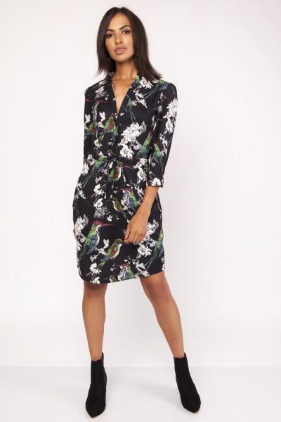 Платье SUK153 птички