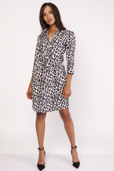 Платье SUK153 пантерка
