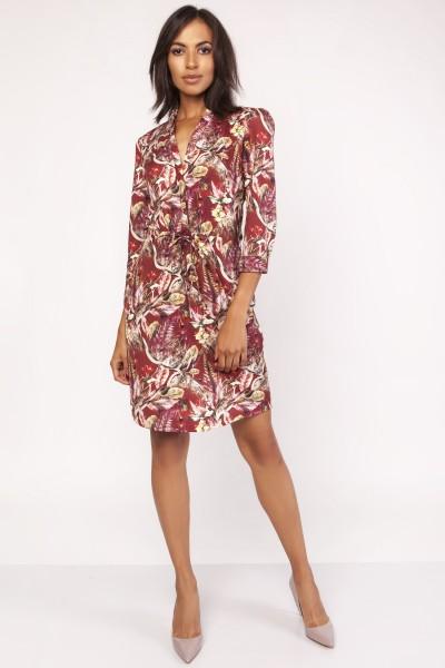Платье SUK153 узор