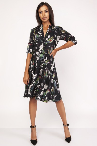 Платье SUK155 птички