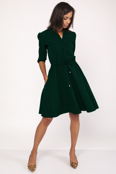 Платье SUK156 зелёный