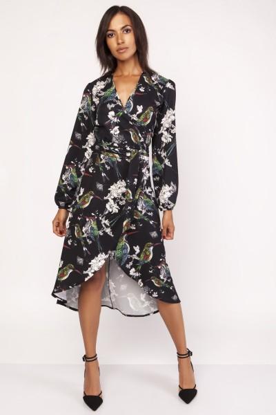 Платье SUK161 птички