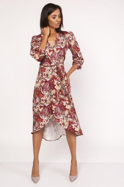 Платье SUK161 узор
