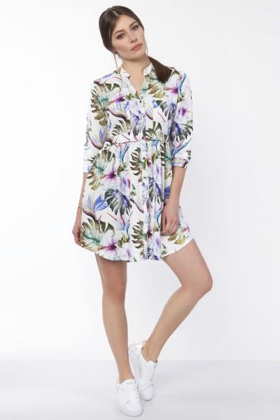 Платье SUK162 листики