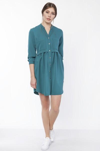 Платье SUK163 изумруд
