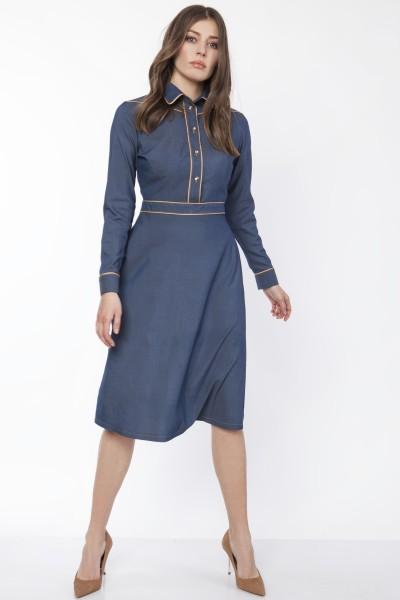 Платье SUK166 джинс