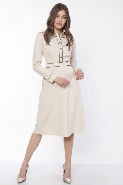 Платье SUK167 беж