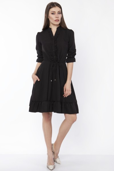 Платье SUK169 чёрный