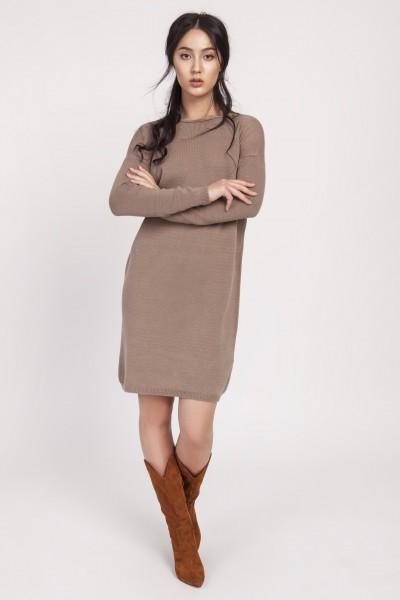 Платье SWE122-mocca