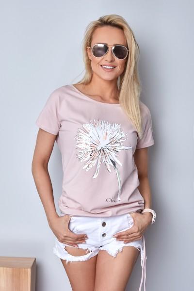 Блузка Latynka 4430 неон-роз