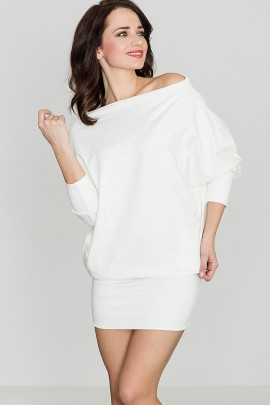 Платье KATRUS K254 экрю