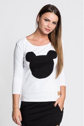 Блузка LUMIDE 326 Mouse чёрный