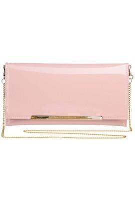 Клатч LUMIDE 86 пудрово-розовый