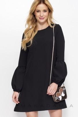 Платье MAKADAMIA M377 чёрный