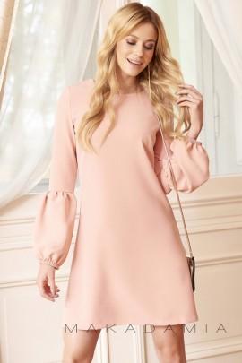 Платье MAKADAMIA M377 розовый
