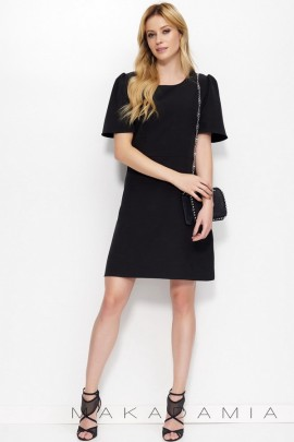 Платье MAKADAMIA M378 чёрный