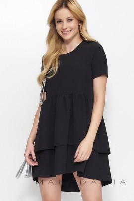 Платье MAKADAMIA M380 чёрный