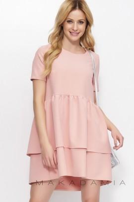 Платье MAKADAMIA M380 розовый