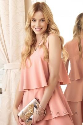 Платье MAKADAMIA M381 розовый