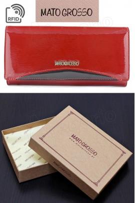 MATO GROSSO 0619-416 RFID красный кошелёк жен.