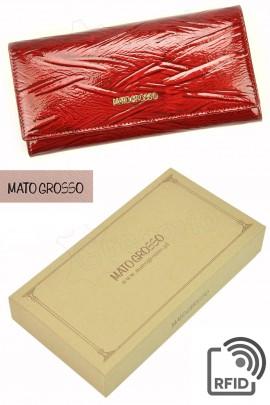 MATO GROSSO 0619-54 RFID красный кошелёк жен.