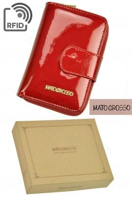 MATO GROSSO 0821-41 RFID красный кошелёк жен.