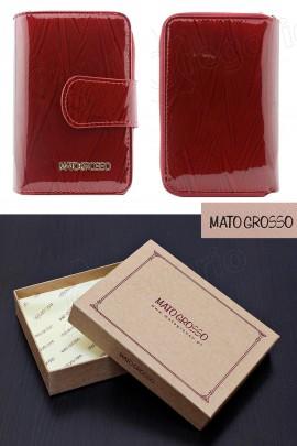 MATO GROSSO 0821-54 RFID красный кошелёк жен.