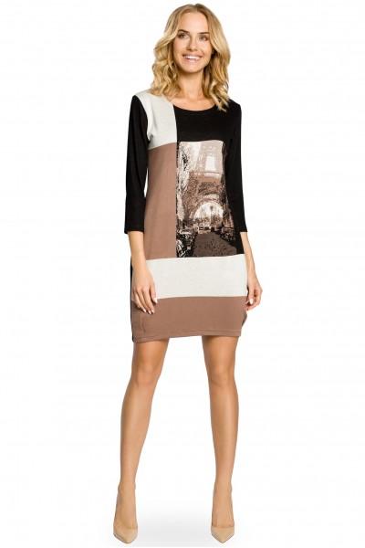 Платье MOE 044 трикотаж