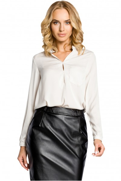Блузка MOE 063 длинный рукав