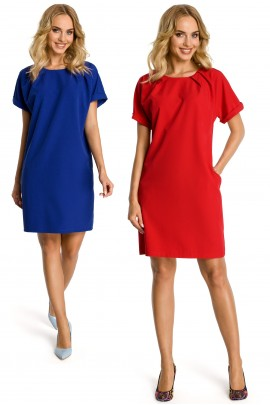 Платье MOE 337 casual с карманами