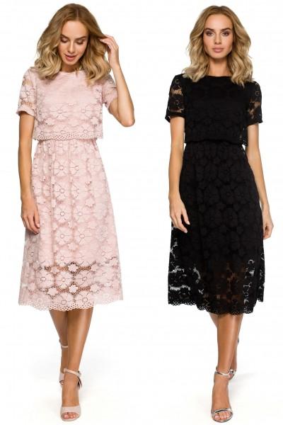 Платье MOE 405 кружево