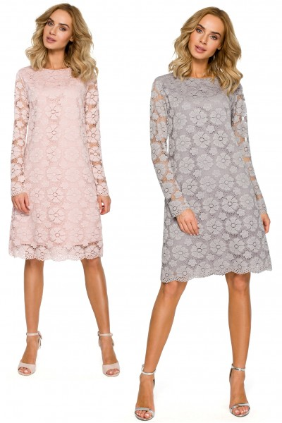 Платье MOE 406 кружево