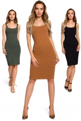Платье MOE 414 casual хлопок