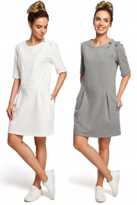 Платье MOE 422 casual хлопок