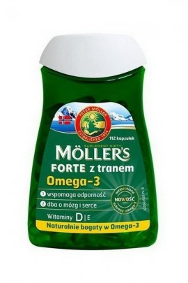 MOLLER'S FORTE Tran Norweski - 112 капсул