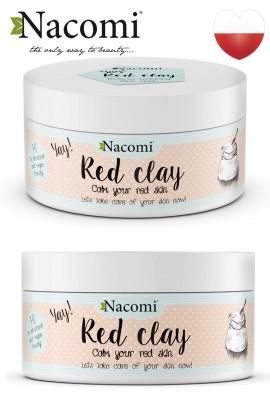 Красная глина - уход за сосудистой кожей лица 100 g