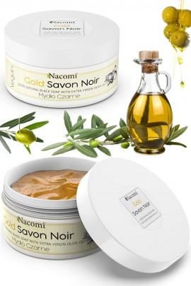 Чёрное мыло с оливковым маслом - GOLD SAVON NOIR 125g