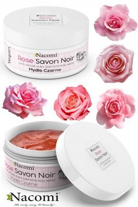 Чёрное мыло с розовой водой - ROSE SAVON NOIR 125g
