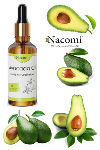 Масло авокадо ECO с пипеткой 50 ml