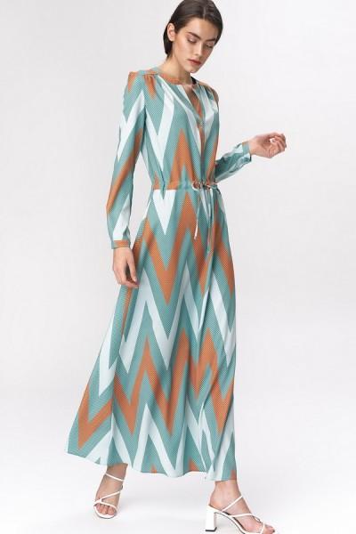 Платье NIFE S140 узор