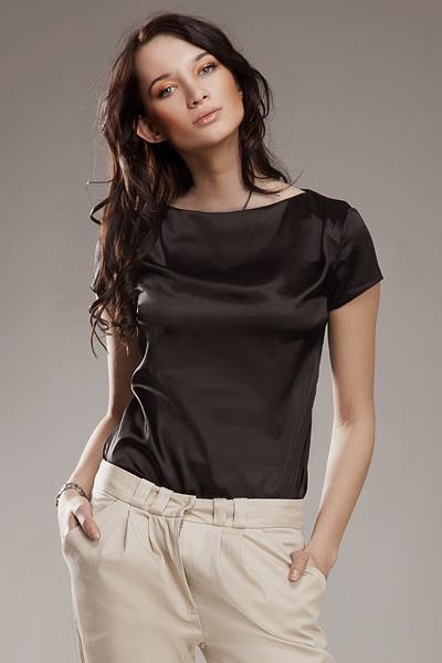 Блузка NIFE B15 чёрный