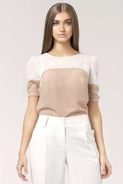 Блузка NIFE B25 беж-экрю