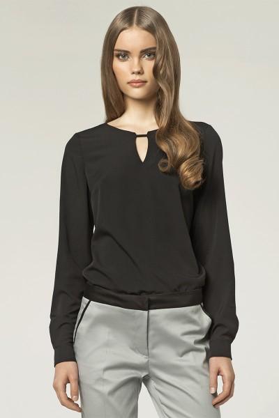 Блузка NIFE B38 чёрный