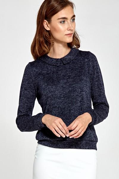 Блузка NIFE b85 тёмно-синий